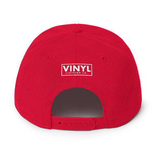 Classically Trained Snapback Hat - Vinyl Clothing Co - DJ Apparel Clothing Disc Jockey Vinyl Gear