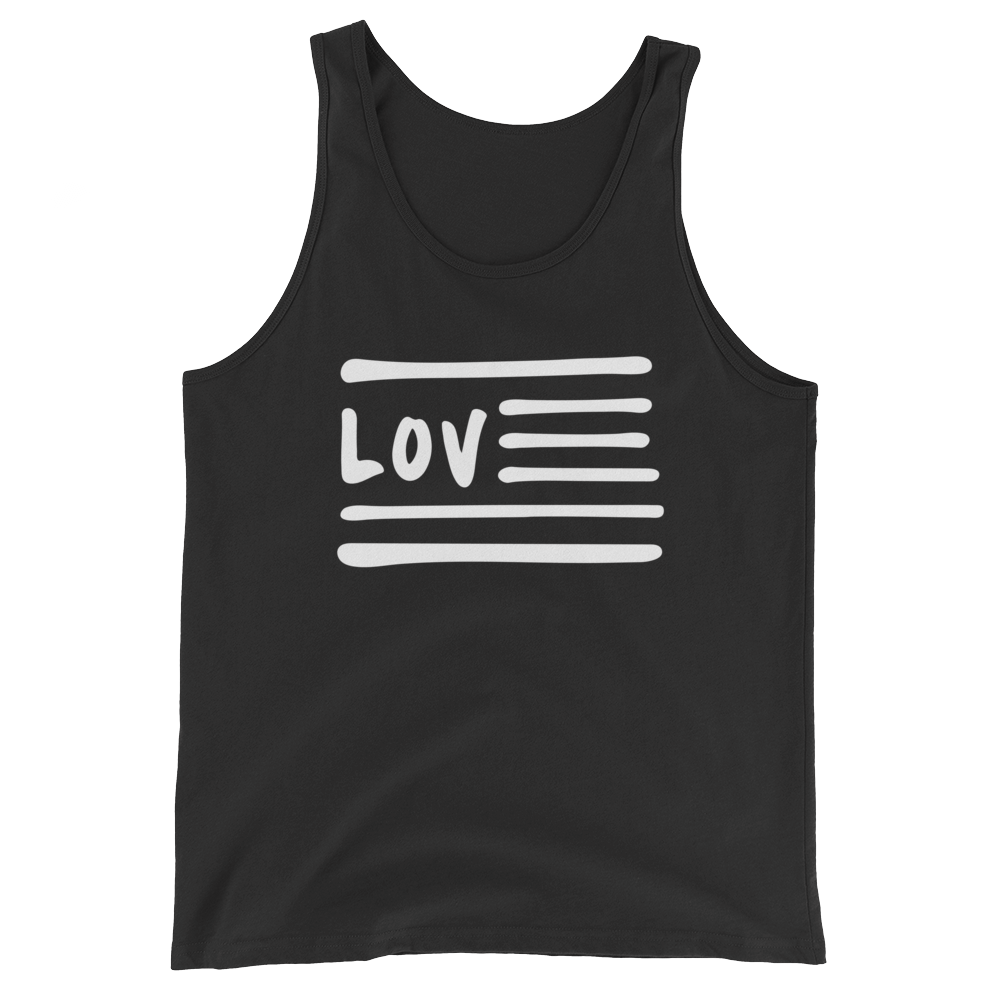 Love Nation Unisex  Tank Top - Vinyl Clothing Co - DJ Apparel Clothing Disc Jockey Vinyl Gear