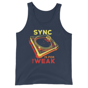 Sync Is For The Weak Unisex Tank Top