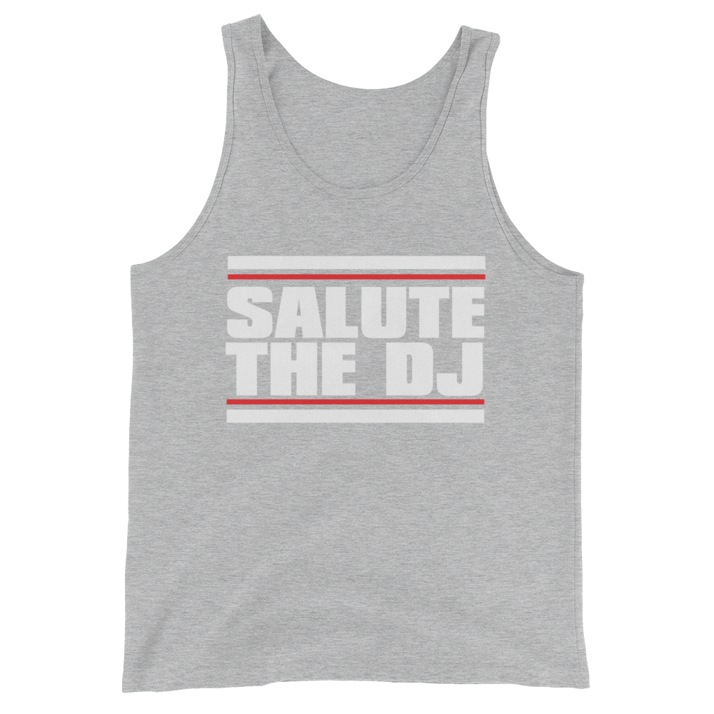 Salute The DJ Unisex  Tank Top
