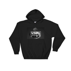 Women & Vinyl Hoodie - Vinyl Clothing Co - DJ Apparel Clothing Disc Jockey Vinyl Gear