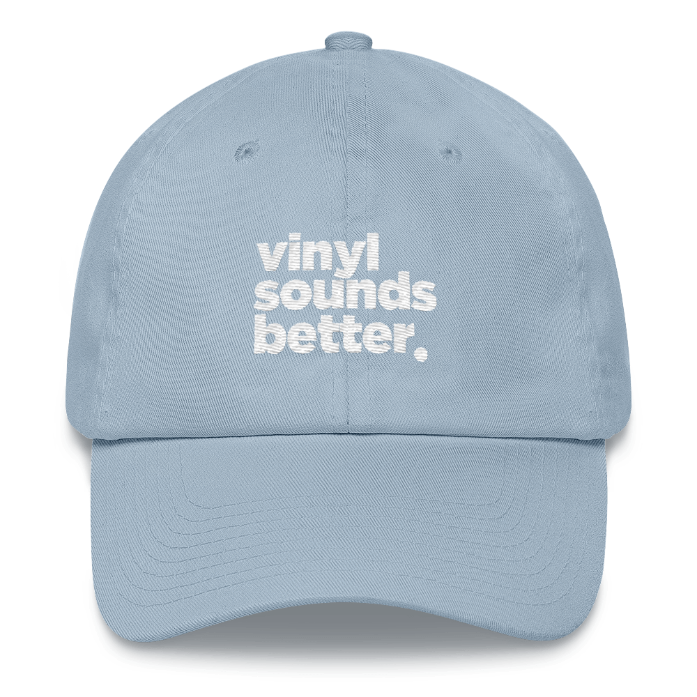 Vinyl Sounds Better (White Letters)