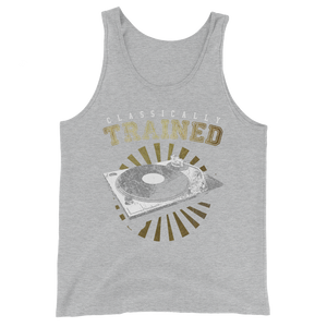 Classically Trained Unisex  Tank Top - Vinyl Clothing Co - DJ Apparel Clothing Disc Jockey Vinyl Gear