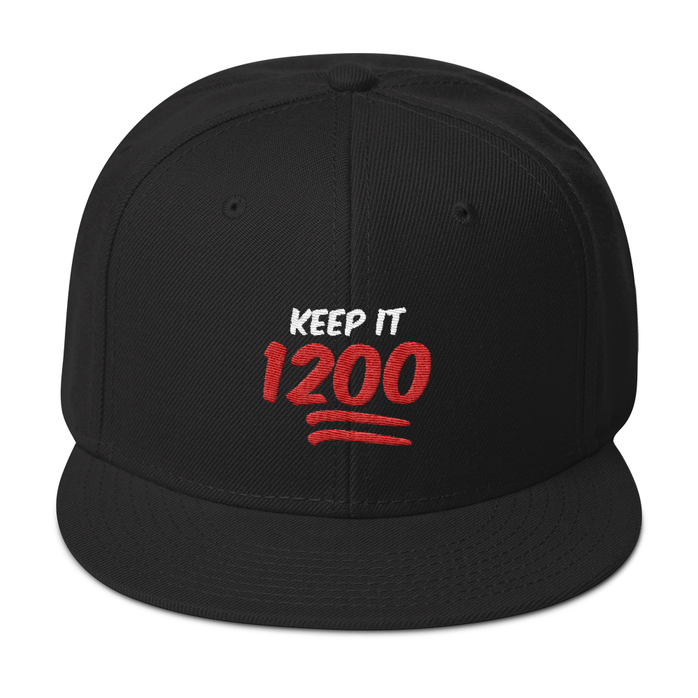 Keep It 1200 Snapback Hat