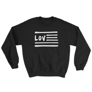 Love Nation Sweatshirt - Vinyl Clothing Co - DJ Apparel Clothing Disc Jockey Vinyl Gear