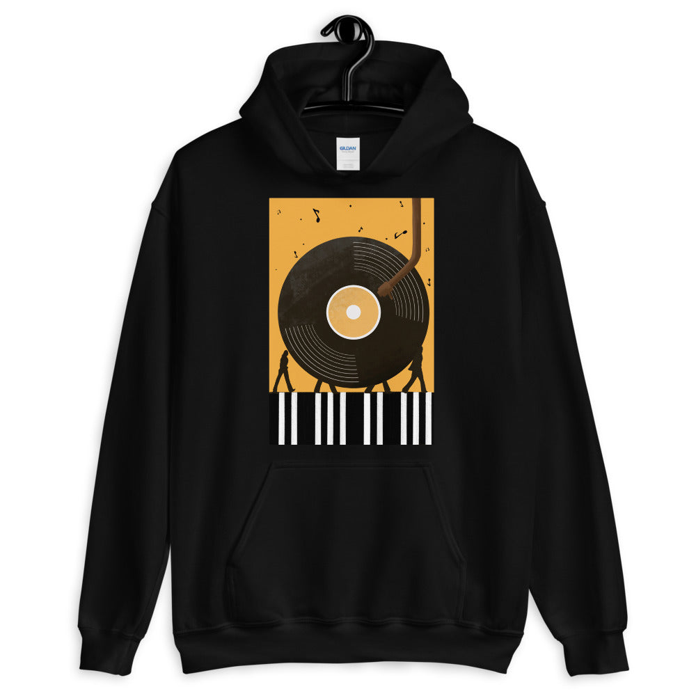 """Abbey Road"" Inspired Hooded Sweatshirt"