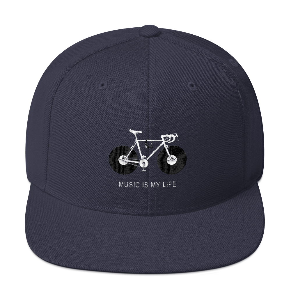 Music Is My Life Snapback Hat