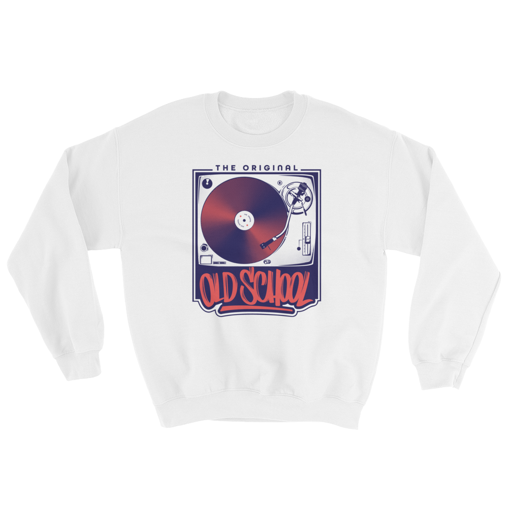 Old School Turntable Sweatshirt