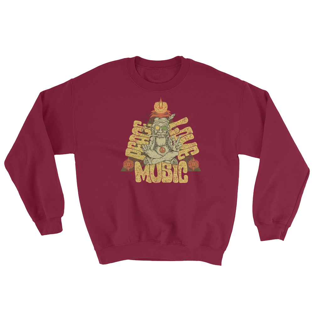 Peace, Love & Music Sweatshirt