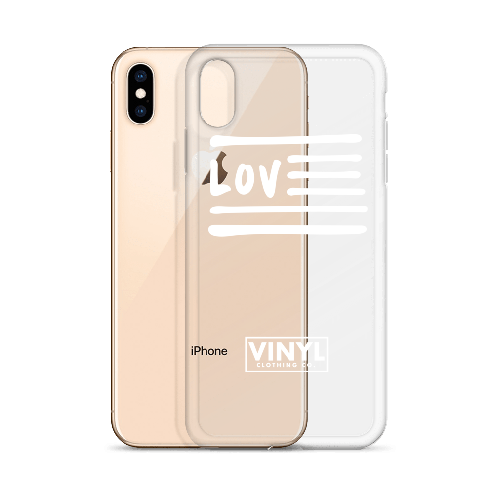 Love Nation iPhone X/XS/XR Case - Vinyl Clothing Co - DJ Apparel Clothing Disc Jockey Vinyl Gear