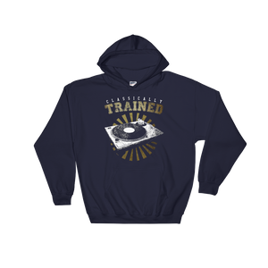 Classically Trained 1200 Hoodie - Vinyl Clothing Co - DJ Apparel Clothing Disc Jockey Vinyl Gear