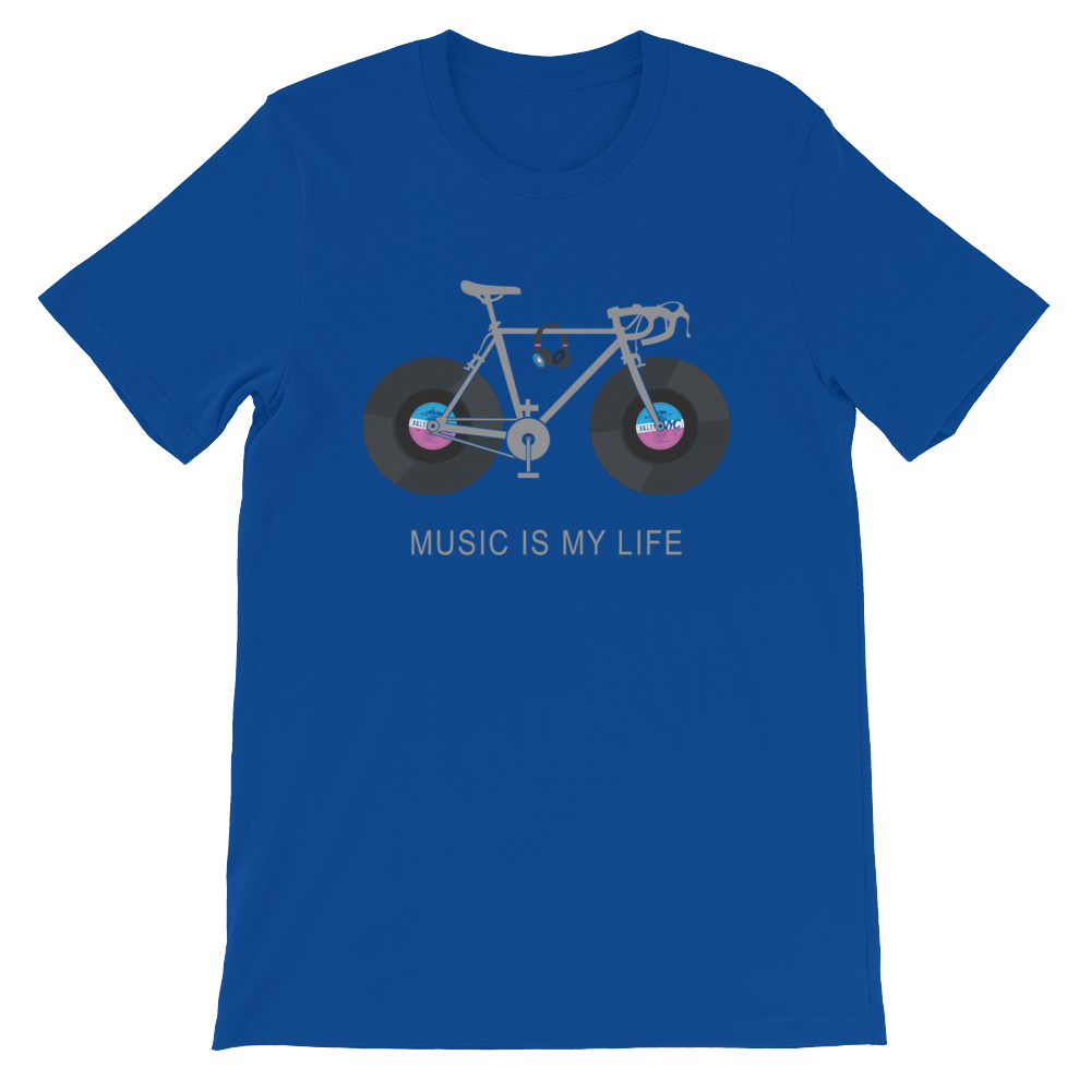 Music Is My Life Short-Sleeve Unisex T-Shirt