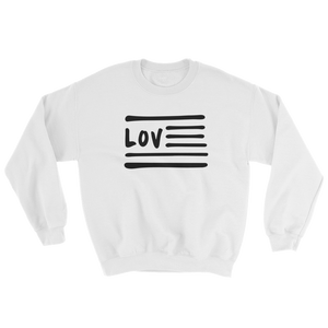 Love Nation Sweatshirt (Blk Print) - Vinyl Clothing Co - DJ Apparel Clothing Disc Jockey Vinyl Gear