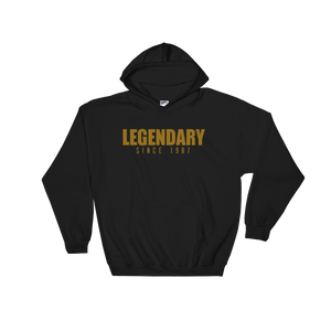 Legendary Since 1987 Hoodie (Year Customizable) - Vinyl Clothing Co - DJ Apparel Clothing Disc Jockey Vinyl Gear