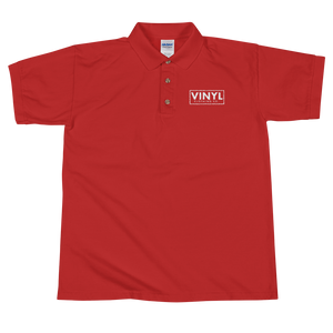 Vinyl Embroidered Polo Shirt