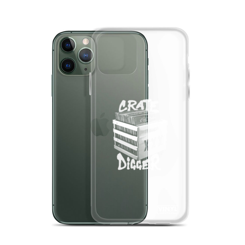 Crate Digger iPhone Case