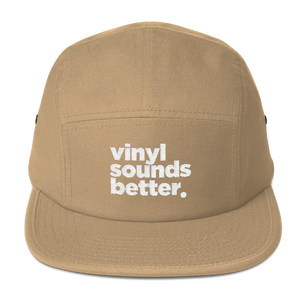Vinyl Sounds Better Five Panel Cap