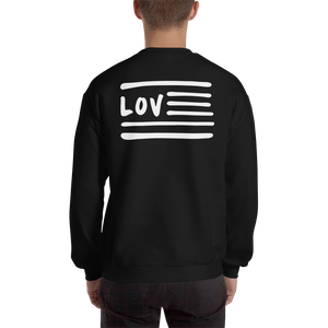 Love Nation (Back) Sweatshirt - Vinyl Clothing Co - DJ Apparel Clothing Disc Jockey Vinyl Gear