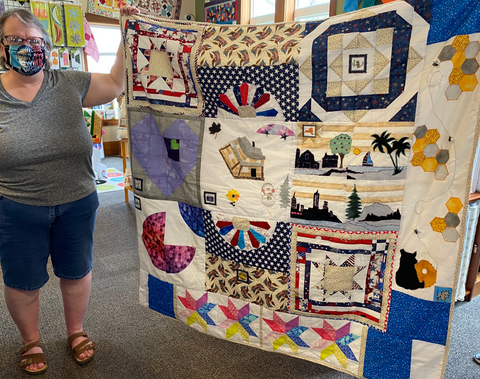 Calico Gals Quilters Trek Finisher!