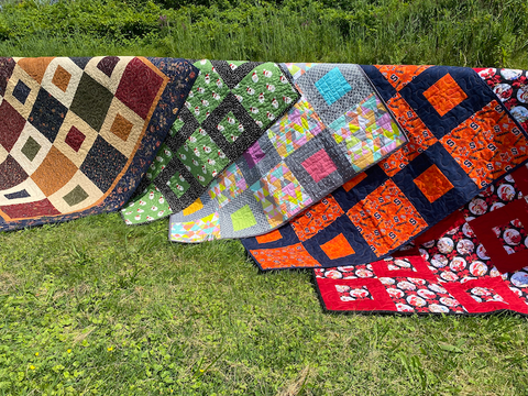 Sheryl Quilts on the fence