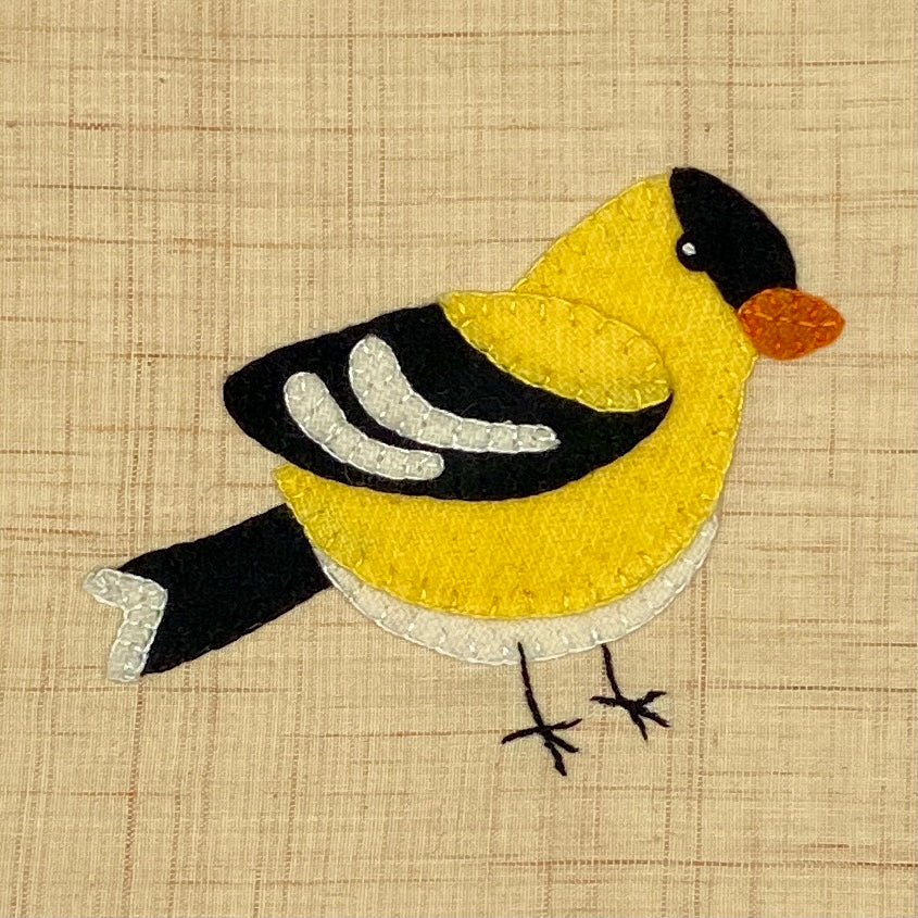 WEE WOOLIES GOLDFINCH PATTERN