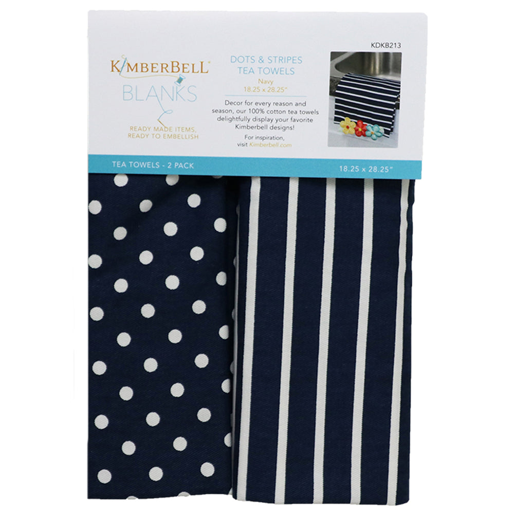NAVY TEA TOWELS