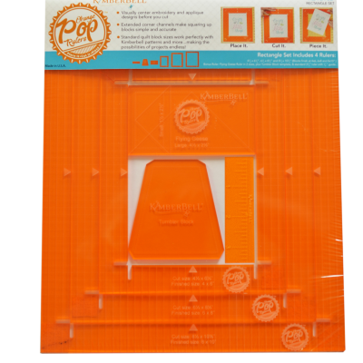 ORANGE POP RECTANGULAR SET