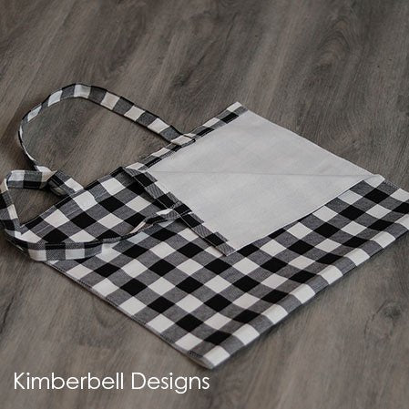 BUFFALO CHECK TOTE BLACK