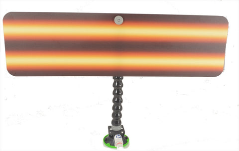 "24"" Amber Fire Reflector Board with Loc-Line and Suction Cup (AFB-24-SC)"