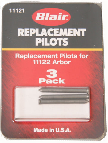 Pack of 3 Pilot Pins  for Rotabroach Kit (Made in USA)