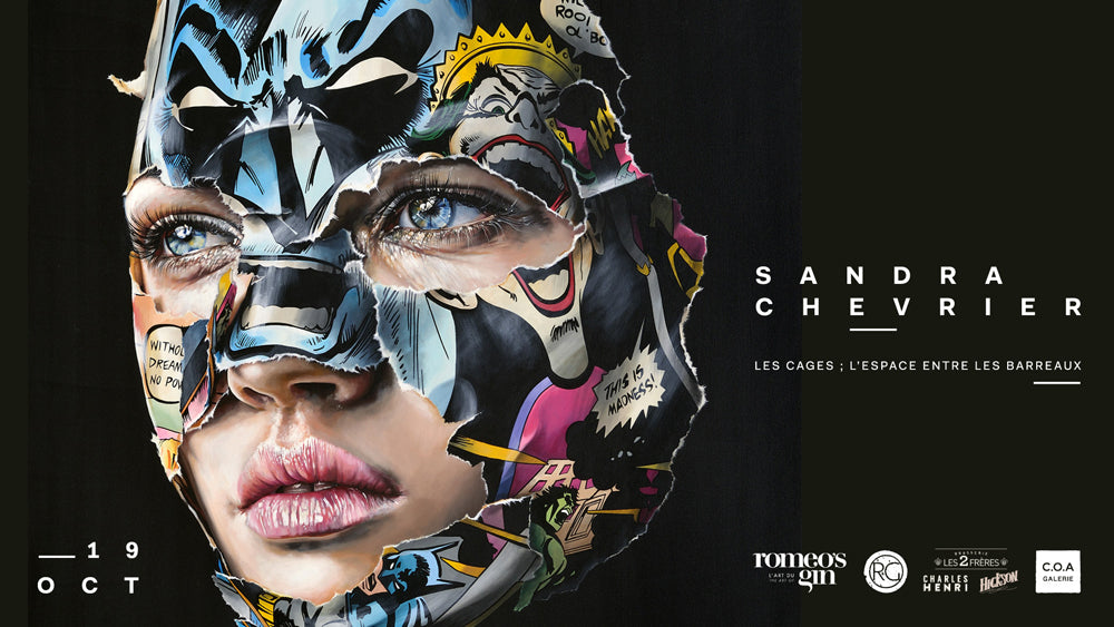 Sandra Chevrier Solo Show at Galerie C.O.A | October 2017