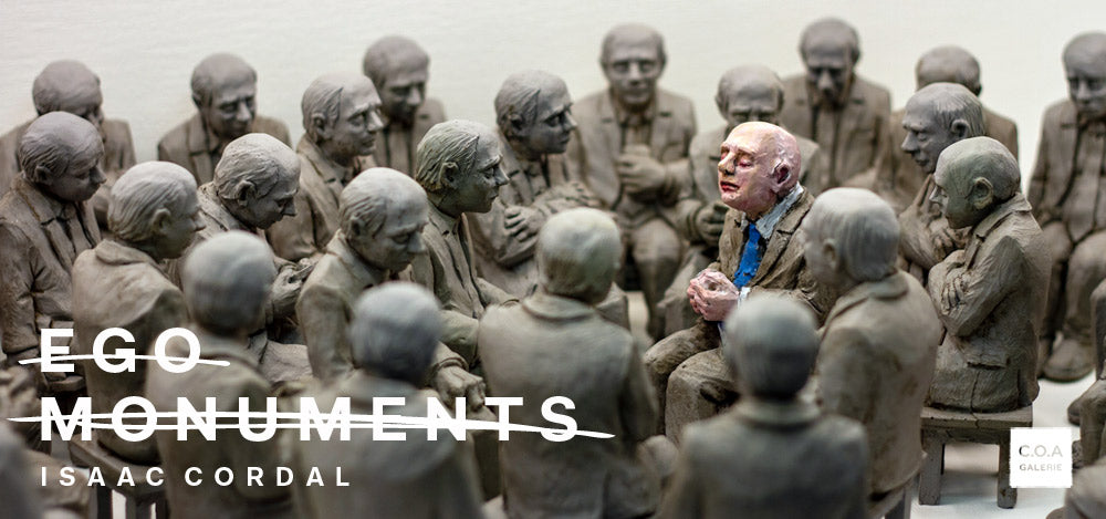 Isaac Cordal | Ego Monuments
