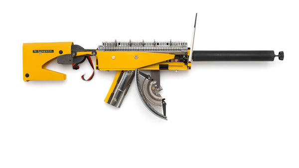 Writing as Warfare: Éric Nado's Reconstructive Typewriter Guns
