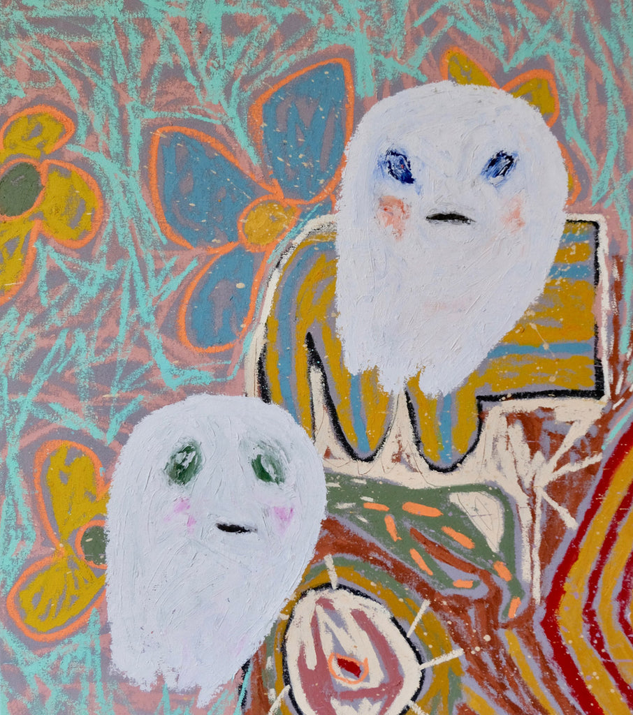 Brother Ghosts on Foreign Quilts