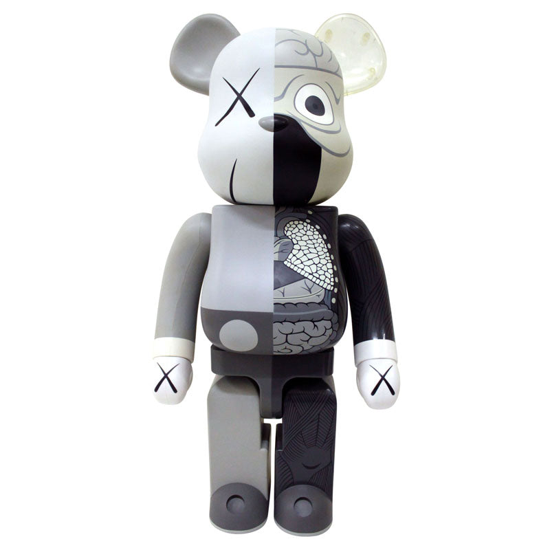 400% Bearbrick Dissected (Gris)