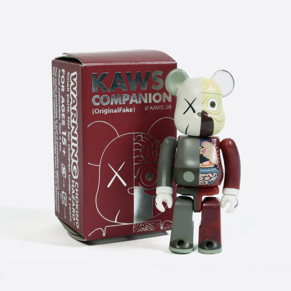 Dissected Companion Bearbrick 100%