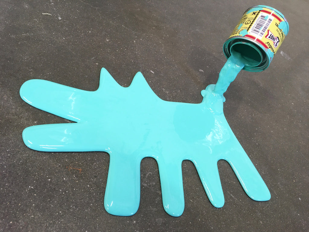 Keith Haring Dog - Happy Accident Series (b)