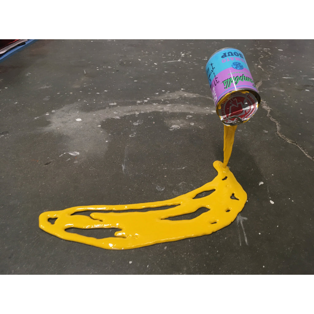 Warhol Banana (Floating Can) - Happy Accident Series