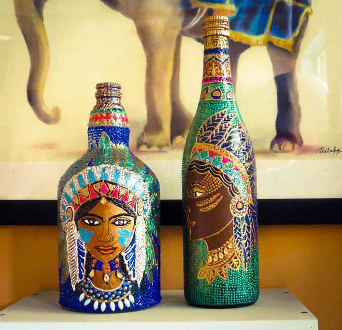 4 Trendy Ways How You can Decorate with Bottles