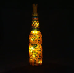 Hand-painted Bottle With Light