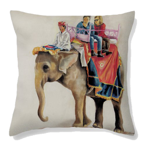 Haati Velvet Cushion Cover - Ankansala