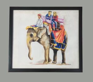 Haati Framed Wall Art - Ankansala