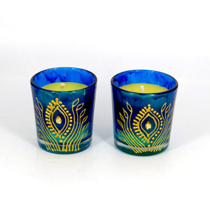 Ocean Breeze Handmade Scented Soy Candle-B | Set of 2 - Ankansala