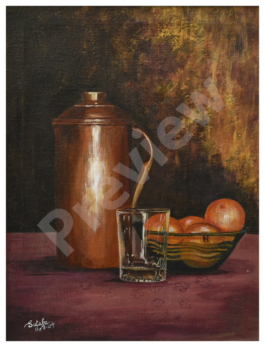 Still life (one) - Fine Art Canvas Print- Wall Art - Ankansala