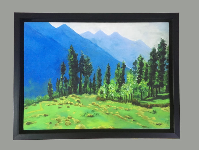 Mountain Calling Framed Wall Art - Ankansala