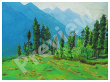 Mountain Calling-  Fine Art Canvas Print- Wall Art - Ankansala