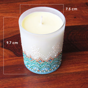 Snow Love Soy Candle- Vanilla