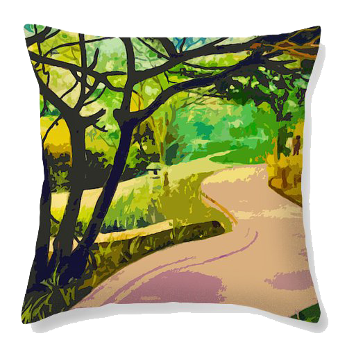 Green corner Velvet Cushion Cover - Ankansala