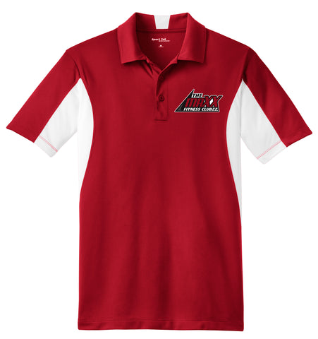 Red/White Men's Staff Polo Shirt