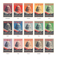 Capitol Building Thank You Cards